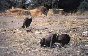 The Vulture and the Little Girl